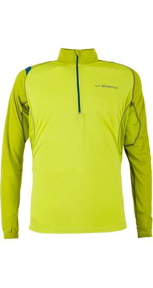 La Sportiva Action Hardloopshirt lange mouwen Heren geel
